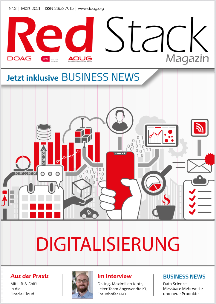 Red Stack Magazin Nr. 2/2021 Cover