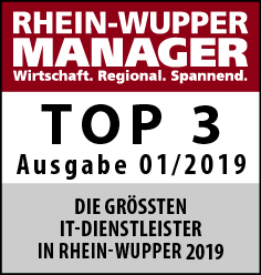 Top 3 IT Dienstleister - Rhein Wupper Manager